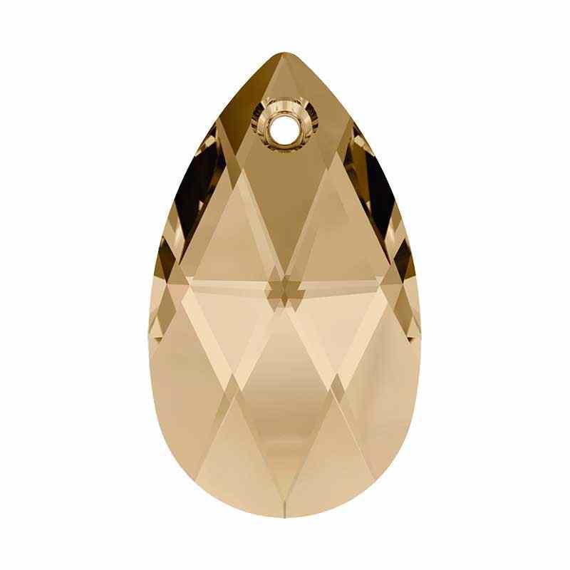22MM Crystal Golden Shadow Ripats 6106 Pirni kujuline SWAROVSKI