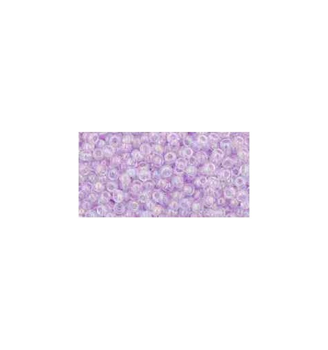 TR-11-477D Transparent-Rainbow Foxglove TOHO Seed Beads