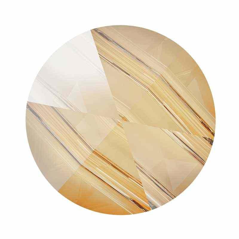 5.5MM Crystal Golden Shadow 5062 Round Spike Beads SWAROVSKI