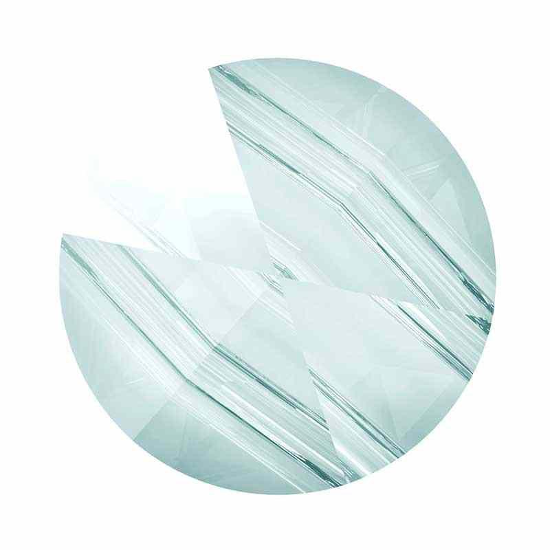 5.5MM Crystal Blue Shade 5062 Round Spike Бусины SWAROVSKI