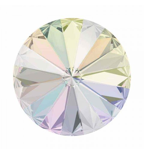 12MM CRYSTAL AB F (001 AB) 1122 Rivoli Chaton SWAROVSKI ELEMENTS