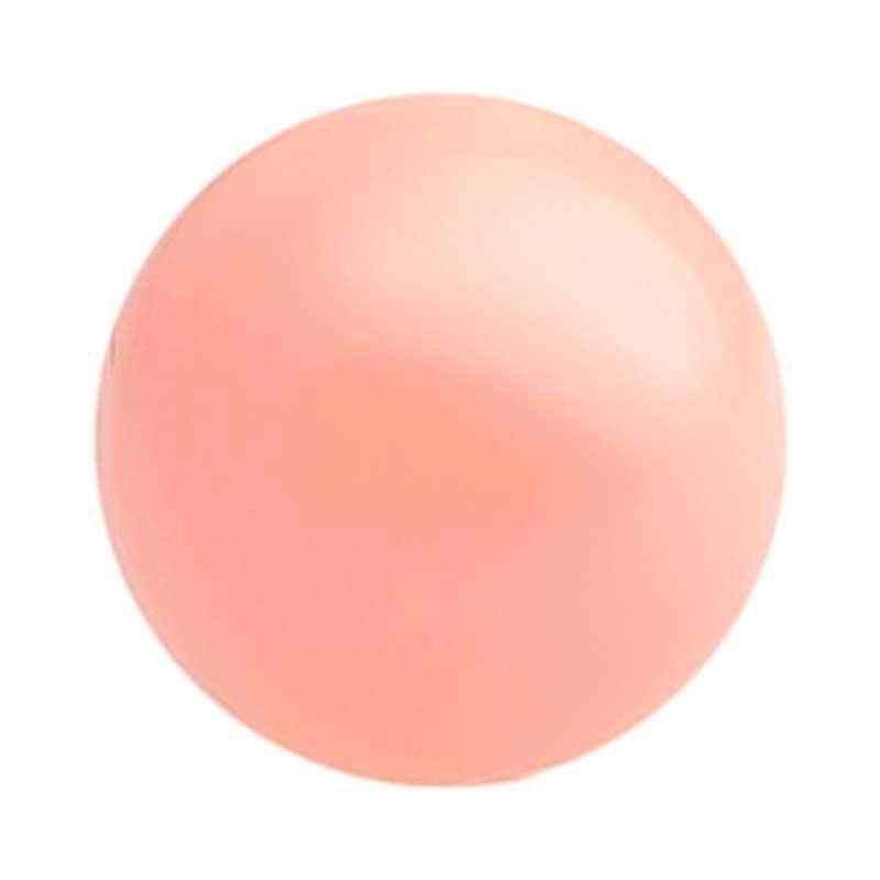 4MM Pink Coral Kristall Ümmargune Pärl (001 716) 5810 SWAROVSKI