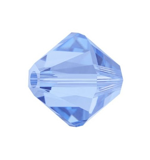 6MM Light Sapphire (211) 5328 XILION Bi-Cone SWAROVSKI ELEMENTS