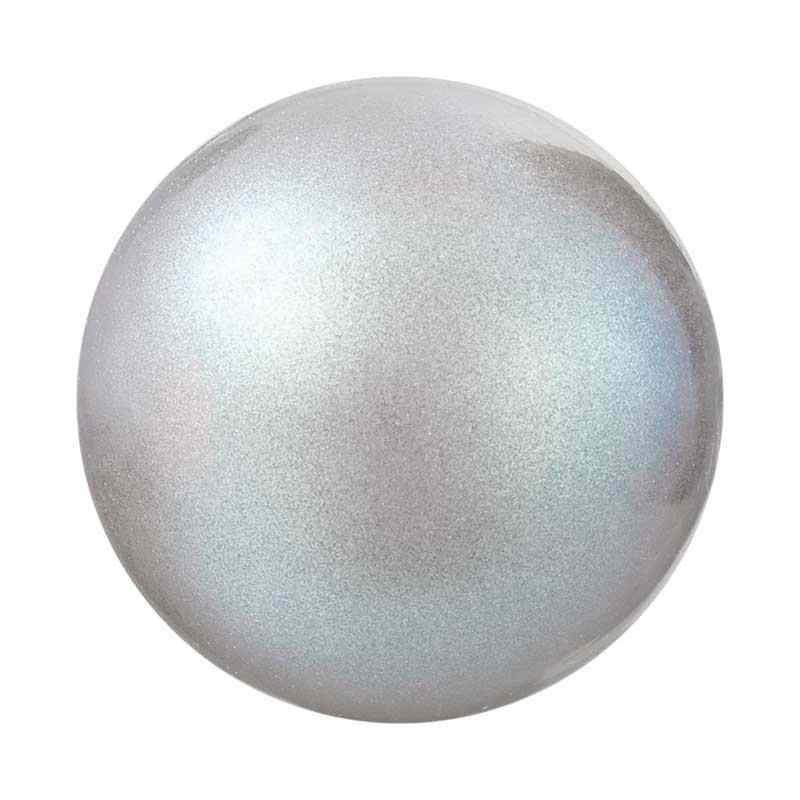 5MM Pearlescent Grey Pärlmutter Ümmargune Pärl Preciosa