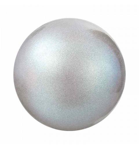 6MM Pearlescent Grey Nacre Pearl round Preciosa