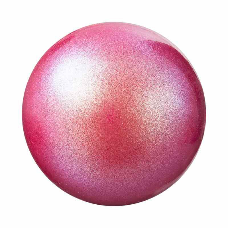 10MM Pearlescent Red Nacre Pearl round Preciosa