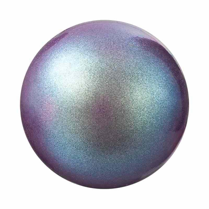 10MM Pearlescent Violet Nacre Pearles de rondes Preciosa