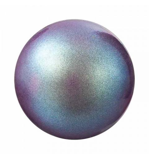 12MM Pearlescent Violet Nacre Pearl round Preciosa