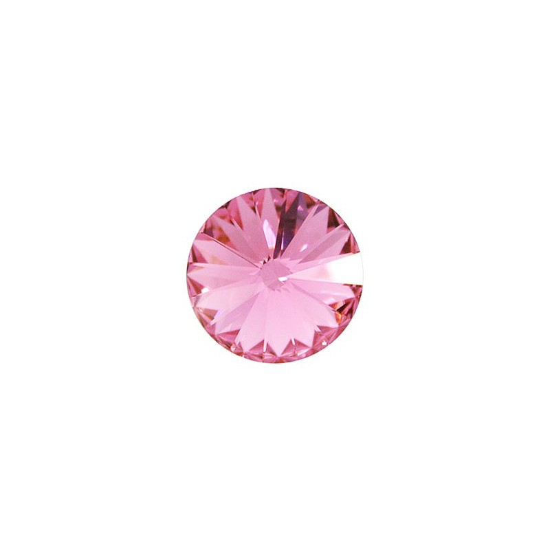 14MM Rose F (209) 1122 Rivoli Chaton SWAROVSKI ELEMENTS
