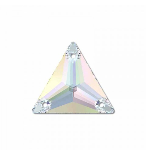 16MM Jet AB (280 AB) 3270 Triangle SWAROVSKI ELEMENTS