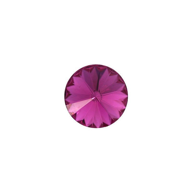 14MM Fuchsia F (502) 1122 Rivoli Chaton SWAROVSKI ELEMENTS