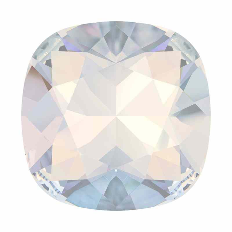 10mm 4470 White Opal F Cushion Square Fancy Stone Swarovski