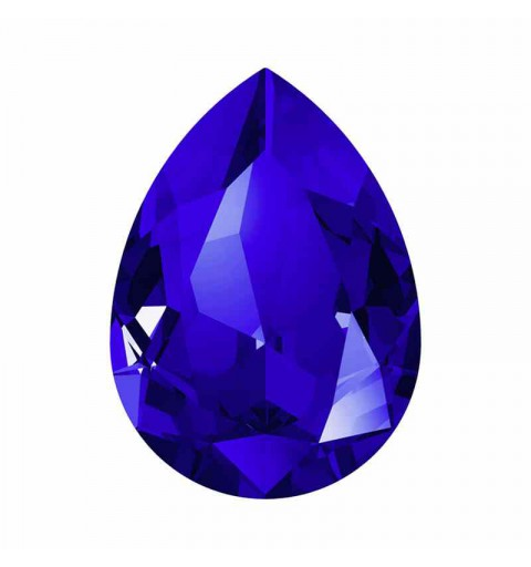 14x10mm Majestic Blue F Pear-Shaped Fancy Stone 4320 Swarovski