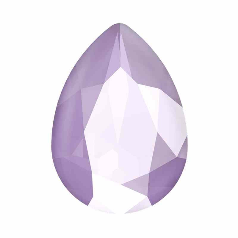 14x10mm Crystal Lilac Pear-Shaped Fancy Stone 4320 Swarovski
