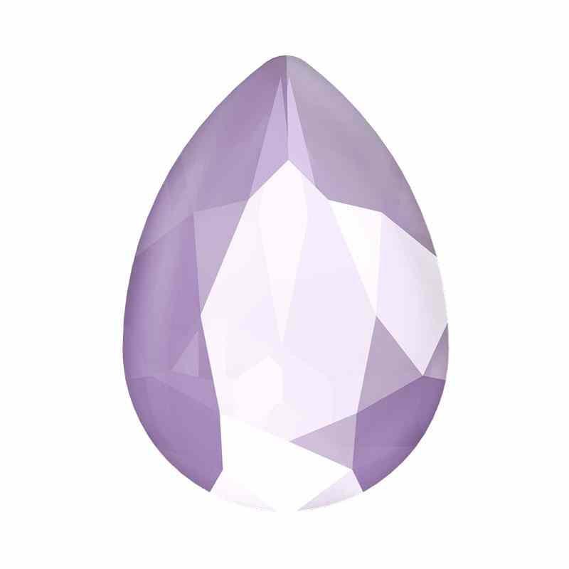 14x10mm Crystal Lilac Poire Fancy Cristal 4320 de Swarovski