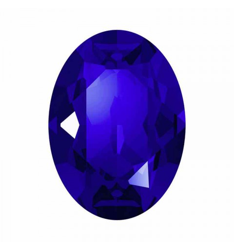 14x10mm Majestic Blue F Oval Fancy Stone 4120 Swarovski