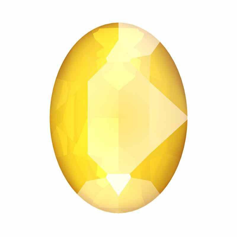 18x13mm Crystal Buttercup Oval Ehete Kristall 4120 Swarovski