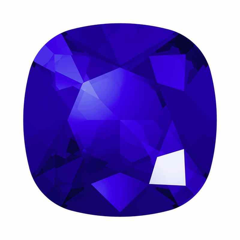 12mm 4470 Majestic Blue F Подушкообразный Квадратный Кристалл украшений Swarovski