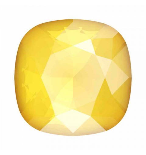 12mm 4470 Crystal Buttercup Cushion Square Fancy Stone Swarovski