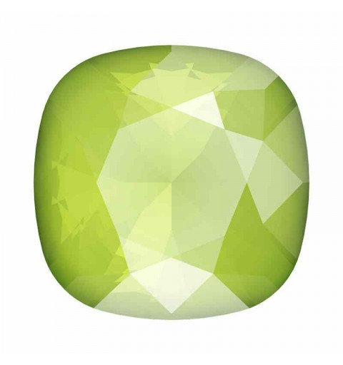 12mm 4470 Crystal Lime Cushion Square Fancy Stone Swarovski