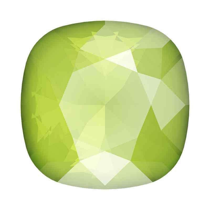 10mm 4470 Crystal Lime Cushion Square Fancy Stone Swarovski