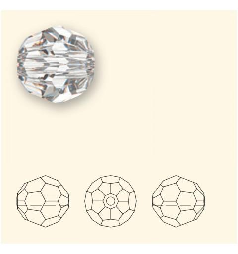6MM Light Siam (227) 5000 ümmargused helmed SWAROVSKI ELEMENTS