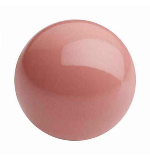 4MM Salmon Rose Pärlmutter Ümmargune Pärl Preciosa
