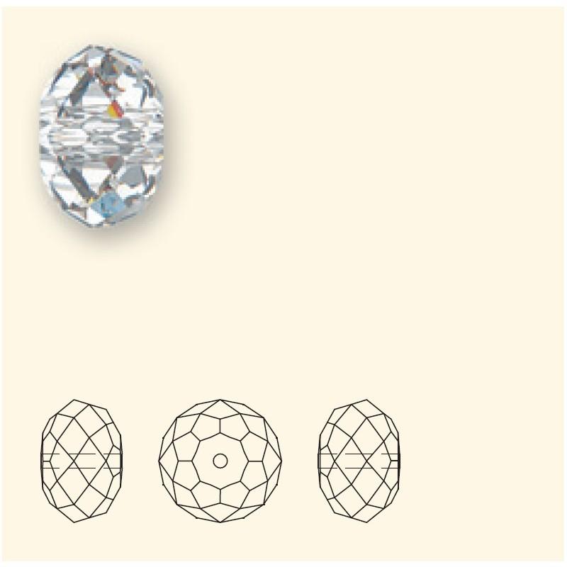 6MM Light Siam (227) 5040 Briolette Bead SWAROVSKI ELEMENTS