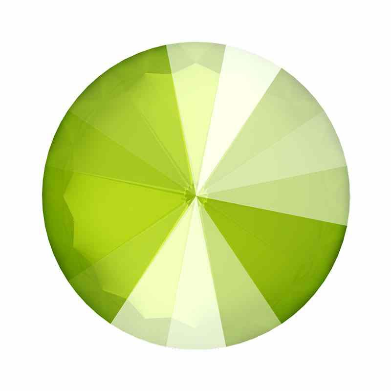 14MM Crystal Lime 1122 Rivoli SWAROVSKI