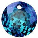 14MM Crystal Bermuda Blue P Classic Cut Pendant 6430 SWAROVSKI
