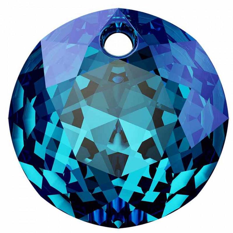 14MM Crystal Bermuda Blue P Classic Cut Подвески 6430 SWAROVSKI