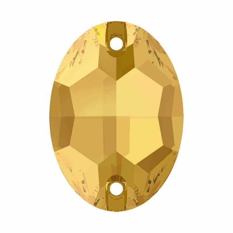 16X11MM Crystal Metallic Sunshine F 3210 Soikea SWAROVSKI Ommeltava kiviä