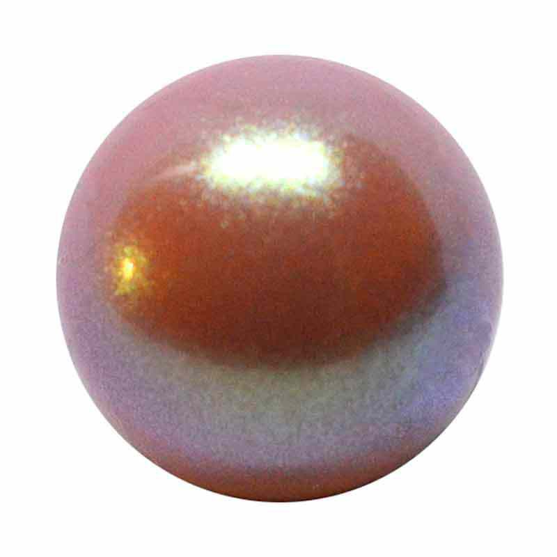 4MM Pearlescent Pink Pärlmutter Ümmargune MXM Pärl Preciosa