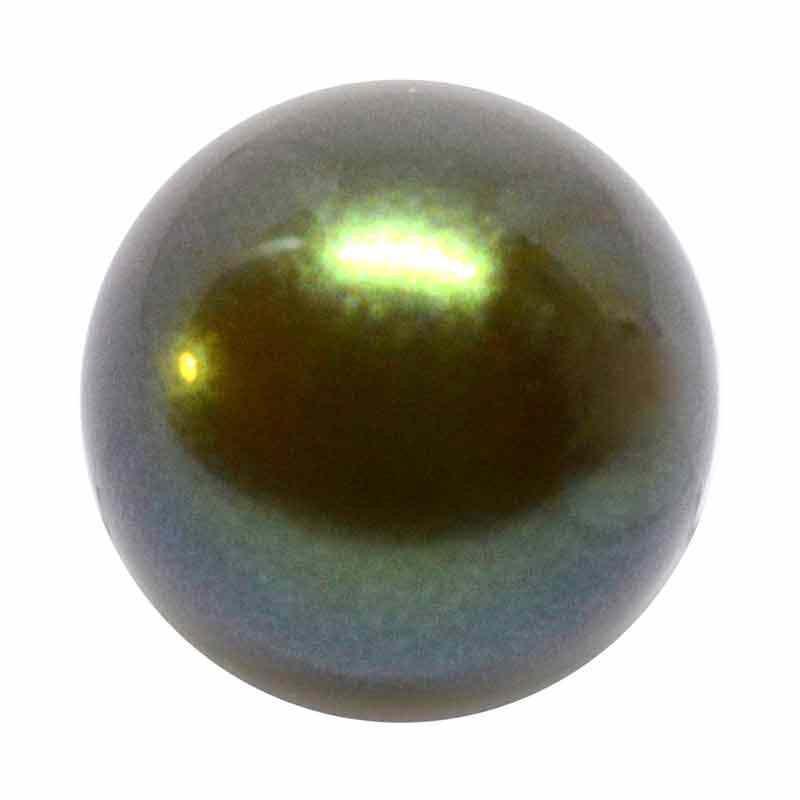 10MM Pearlescent Khaki Nacre Pearles de rondes MXM Preciosa