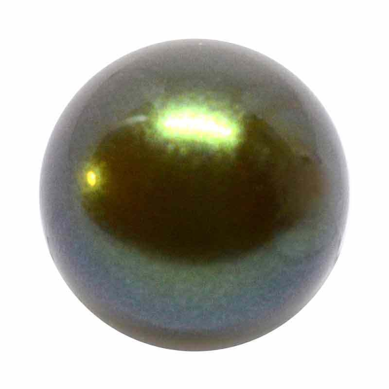 12MM Pearlescent Khaki Pärlmutter Ümmargune MXM Pärl Preciosa