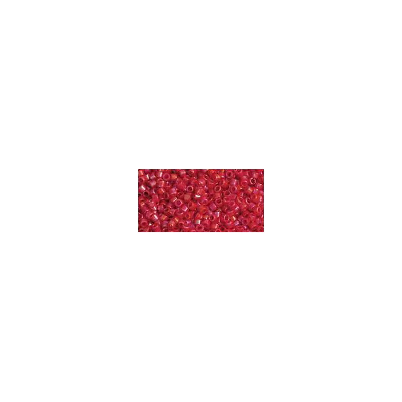 TT-01-405 Opaque-Rainbow Cherry TOHO Treasures Seed Beads