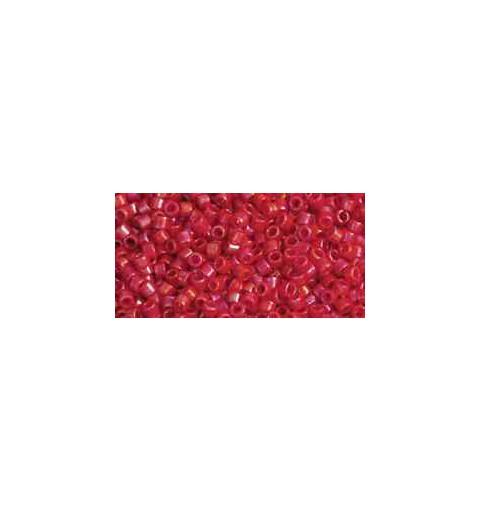 TT-01-405 Opaque-Rainbow Cherry TOHO Treasures Seed Beads