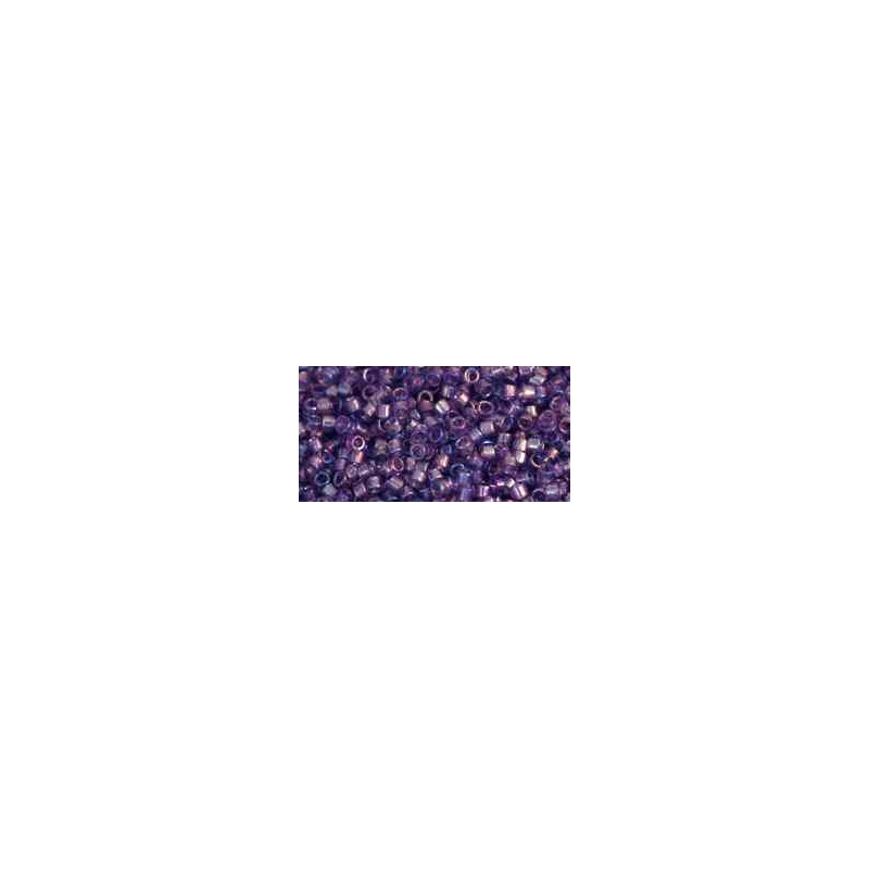 TT-01-166D Transparent-Rainbow Sugar Plum TOHO Treasures Seed Beads