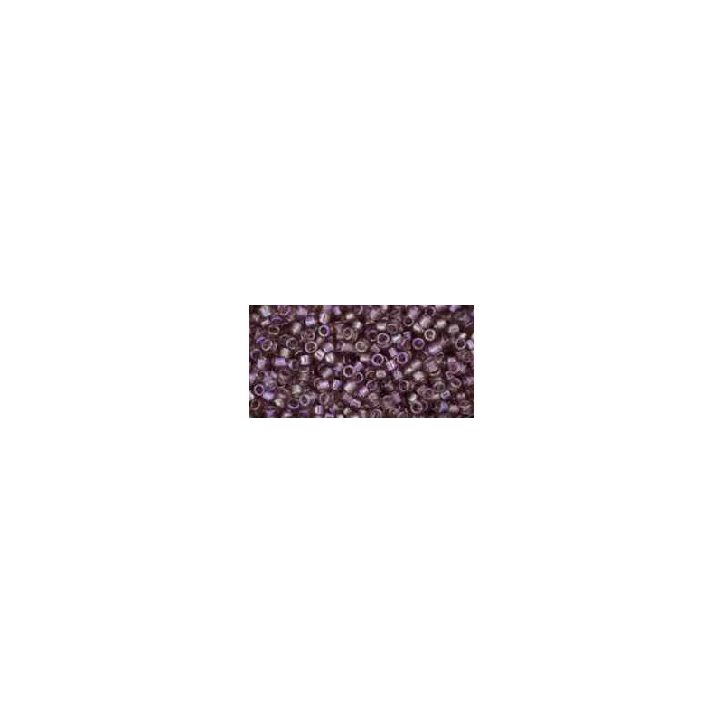 TT-01-166 Transparent-Rainbow Light Amethyst TOHO Treasures Seed Beads