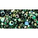 TX-01-3209 Bonsai Green / Black Mix TOHO Seed Beads