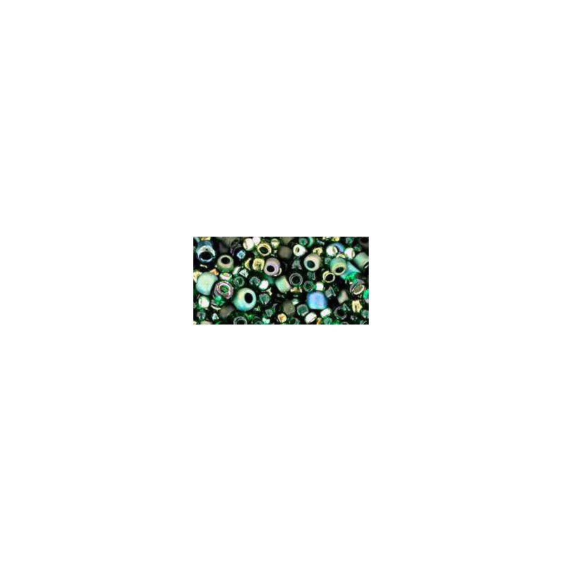 TX-01-3209 Bonsai Green / Black Mix TOHO Perles de Rocailles