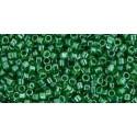 TT-01-108 Transparent-Lustered Peridot TOHO Treasures Seemnehelmed