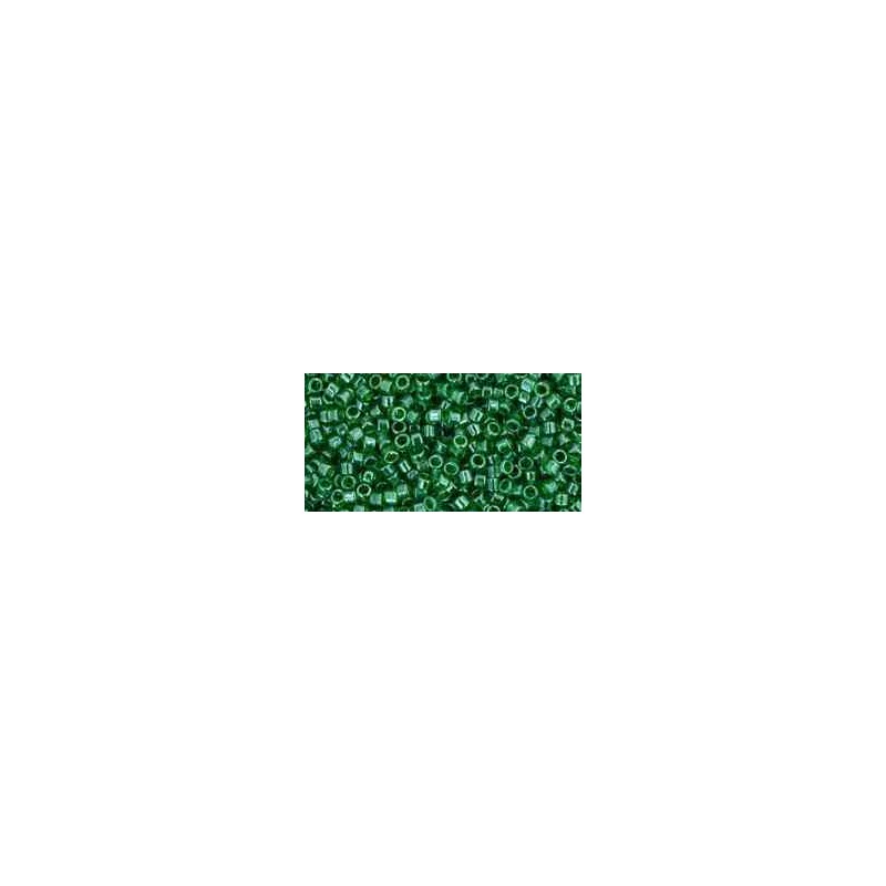 TT-01-108 Transparent-Lustered Peridot TOHO Treasures de Rocailles