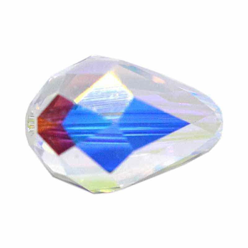 9x6MM Crystal AB (001 AB) 5500 слезинка бусины SWAROVSKI