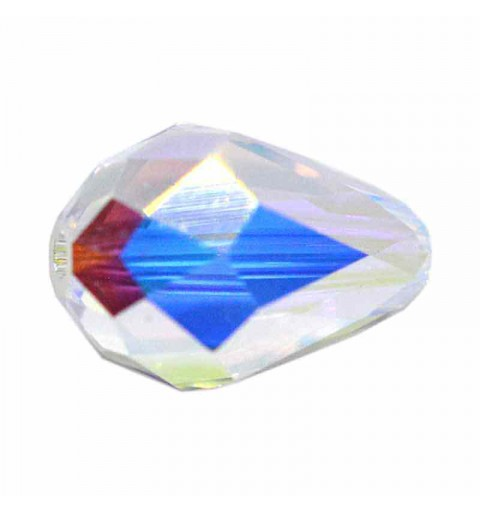 9x6MM Crystal AB (001 AB) 5500 Teardrop Bead SWAROVSKI