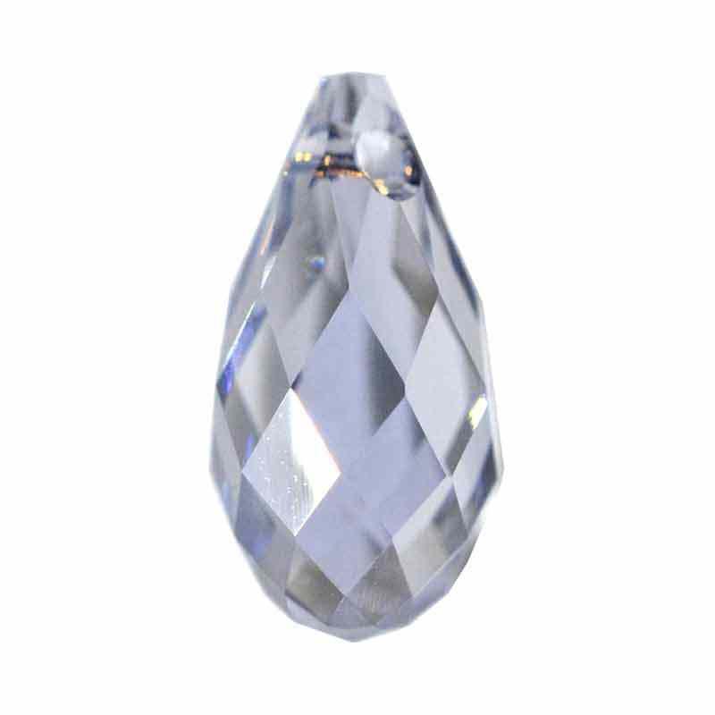 13x6.5MM Crystal Blue Shade (001 BLSH) Briolette Pendant 6010 SWAROVSKI
