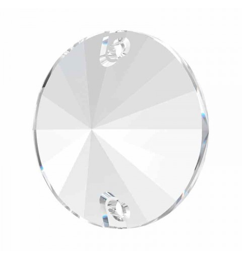 12MM Crystal F 3200 Rivoli SWAROVSKI Sew-on Stone