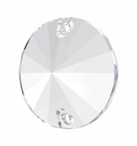 18MM Crystal F 3200 Rivoli SWAROVSKI Sew-on Stone
