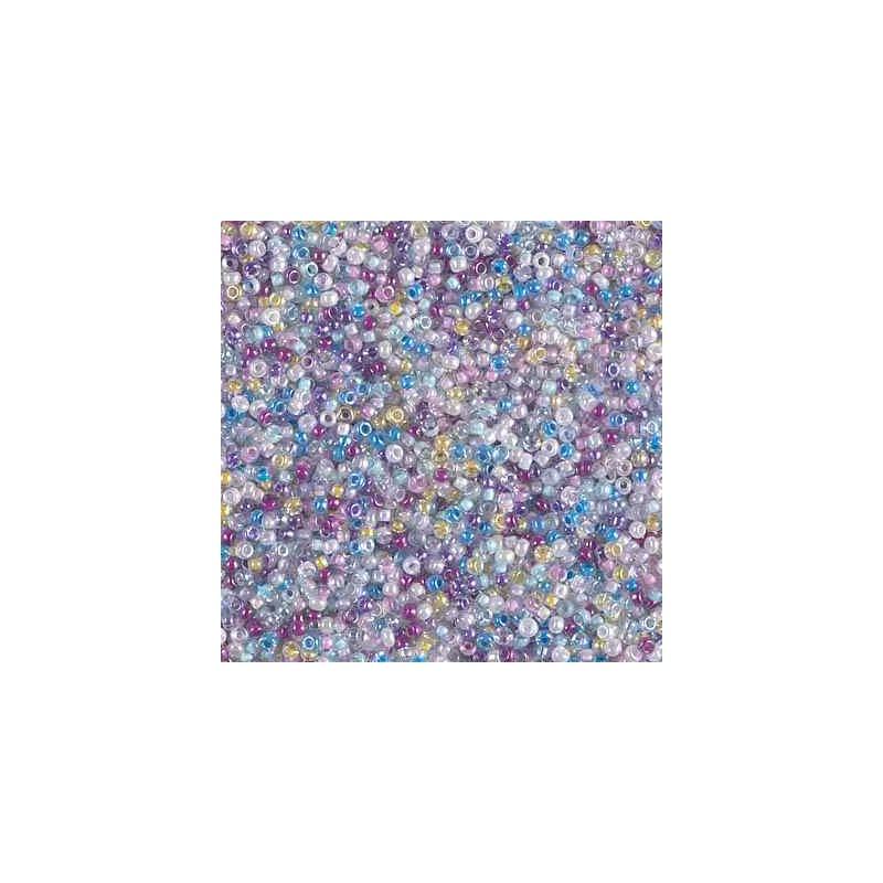 MIX-15-47 Spring Flowers Miyuki Rond Rocailles 15/0