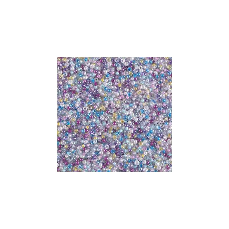 MIX-15-47 Spring Flowers Miyuki Round Rocailles 15/0